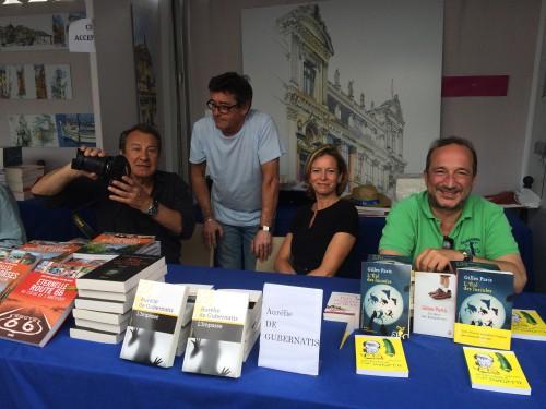 Jean Paul Naddéo, Aurélie de Gubernatis, Patrick Esclapez, Gilles Paris
