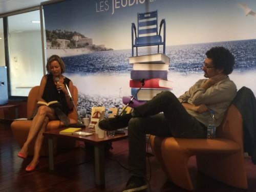 Jeudis littéraires, David Foenkinos, Aurélie de Gubernatis, Nice