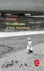 christine orban,  roman, le livre de poche